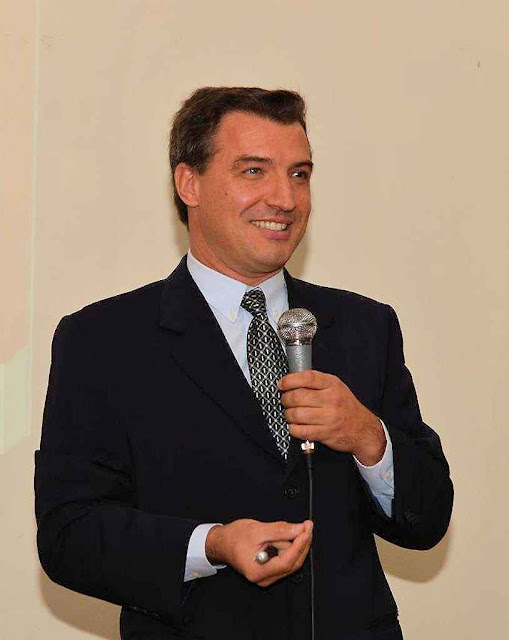 Conferência do Prof Ricardo Felício promovida pelo IPCO. Foto: Paulo Roberto Campos / ABIM.