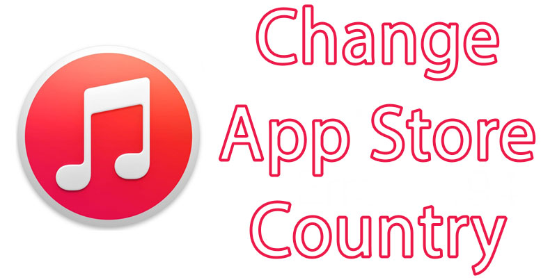change app store country