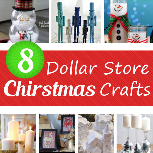8 dollar store christmas crafts - Dollar Store Christmas Crafts