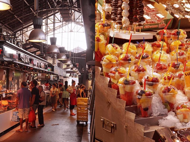 Barcelona Ramblas Markthalle Streetfood Sommerurlaub Katalonien Reisetipps
