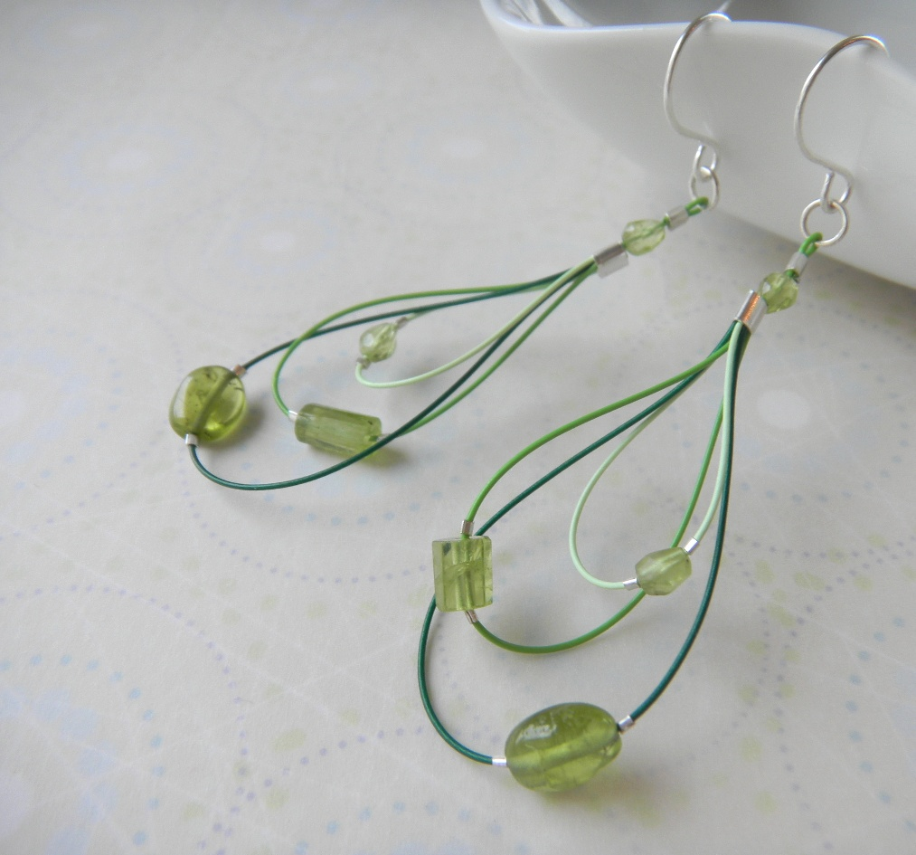 Current Fashion Trends Free Diy Beaded Earring Project By
