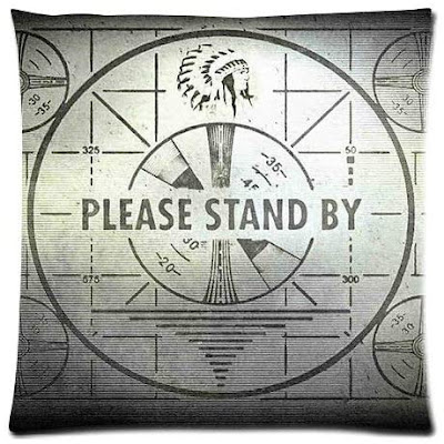 """""""Please Stand By"""" Pillowcase"""
