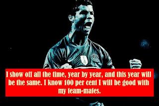 Ronaldo about Manchester