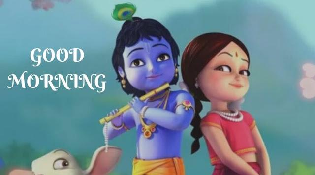 radha krishna good morning image download