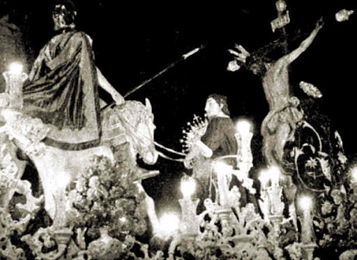 La Lanzada de Sevilla emite un documental sobre la historia y la restauración de su paso de misterio