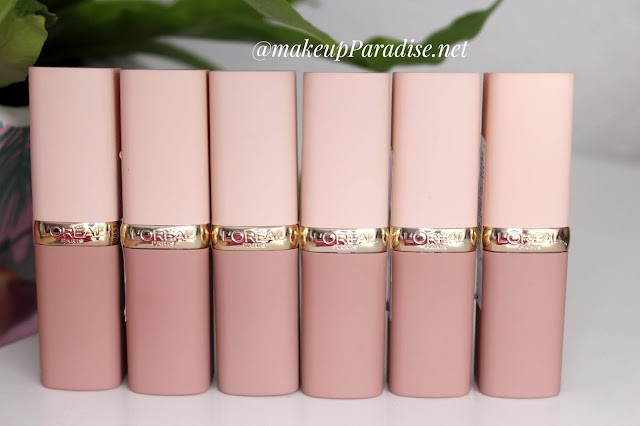 Loreal Color Rich nude lipstick