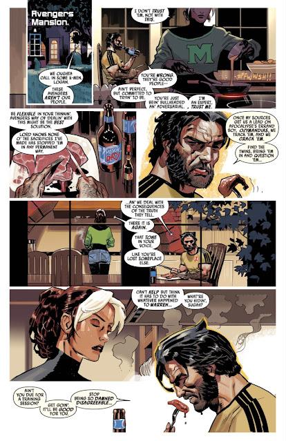 Rogue & Wolverine