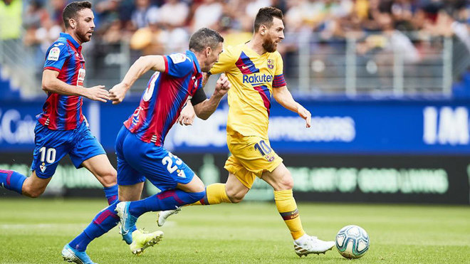 Messi, Eibar's nightmare