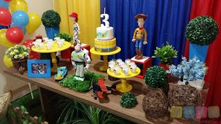 Decoração festa infantil Toy Story