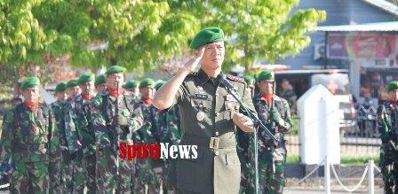 Kolonel Inf Suwarno, S.AP., Pimpin Upacara Ziarah di TMP Watampone di Peringatan Hari Juang TNI-AD