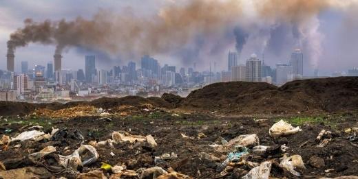 Ilustrasi Pencemaran Lingkungan