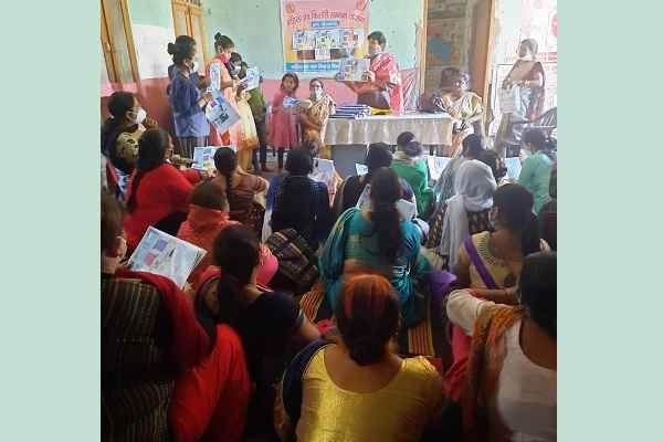 kisori-samman-yojna-program-bhim-basti-faridabad