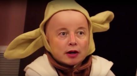 Elon Musks Gesicht auf Babys kopiert | Deepfake Galore einer alternativen Realität