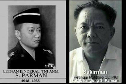 Jendral S. Parman dan Sukirman, Kakak Beradik Yang TNI dan PKI