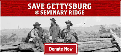 Save Gettysburg, 18 acres at Seminary Ridge