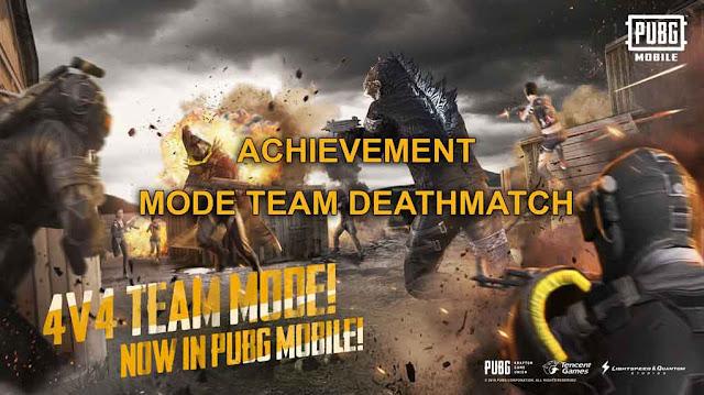 Cara Mudah Mendapatkan Semua Achievement Mode Team Deathmatch PUBG Mobile