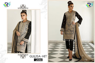 R9 Designer Gulisa Hit Georgette Pakistani Suits Collection
