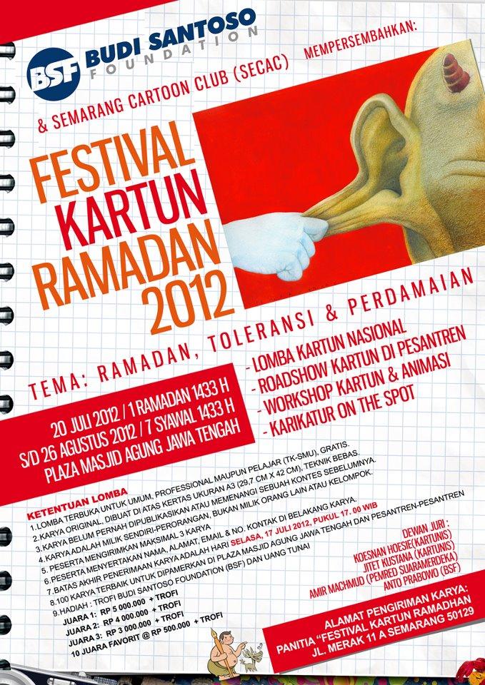 Festival Kartun Ramadan 2012 Etnokartunologi