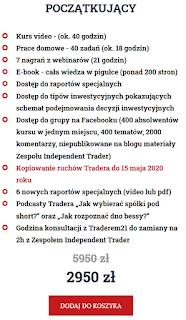 Trader21 kurs dla początkujących