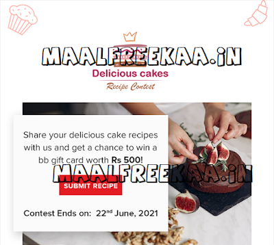 Share Your Delicious Cakes Recipe & Win Prizes