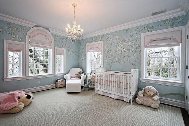 Habitación elegante bebé