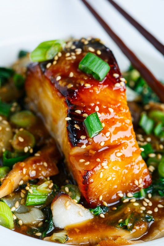Miso Glazed Black Cod