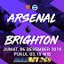 Prediksi Arsenal Vs Brighton Hove Albion, Jumat 06 Desember 2019 Pukul 03.15 WIB @ Mola TV