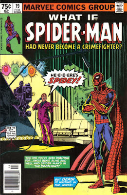 What Id #19, Spider-Man never became a crime-fighter