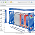 REDS Library: 38. Plate Heat Exchanger | Matlab | Simulink Model
