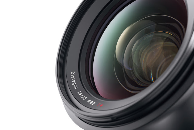 The highly desirable Zeiss 25mm f/1.4 ZE for Canon