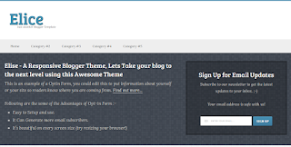 elice blogger template for event blogging