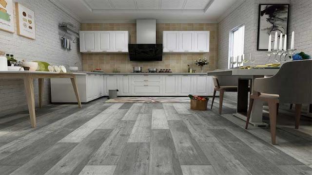 pilihan terbaik memakai lantai laminasi untuk area dapur