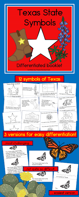 https://www.teacherspayteachers.com/Product/Texas-State-Symbols-3-Differentiated-booklets-2950256