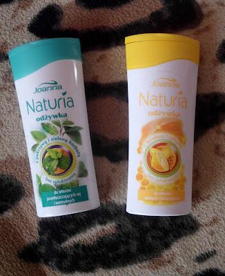 Joanna Naturia, odżywka z pokrzywą i zieloną herbatą VS z miodem i cytryną