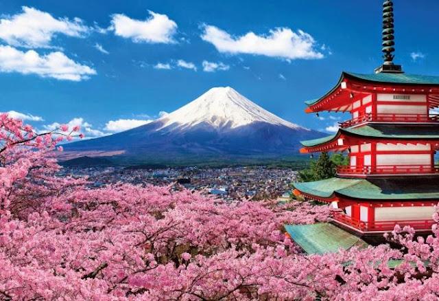 أطول الجبال في اليابان