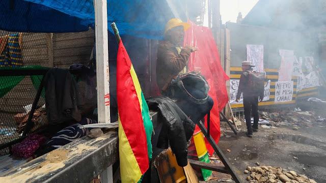 Novo balanço aponta para pelo menos sete mortos em confrontos na Bolívia
