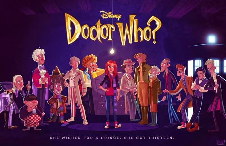 Artist Shows Us What It Would Look Like If Disney Made Doctor Who