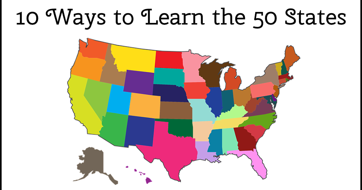 4 Easy Ways to Memorize the 50 States and Capitals