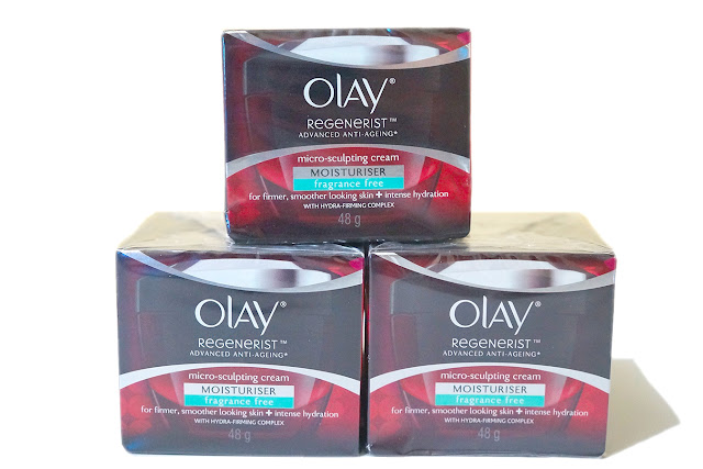 Olay Regenerist Micro Sculpting Moisturizer Cream (Fragrance Free), 48g