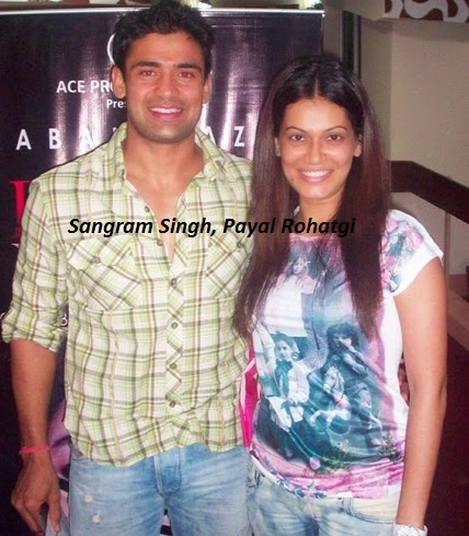 Nach Baliye 7 Contestants | Nach Baliye 2015 Contestants | Sangram Singh and Payal Rohatgi