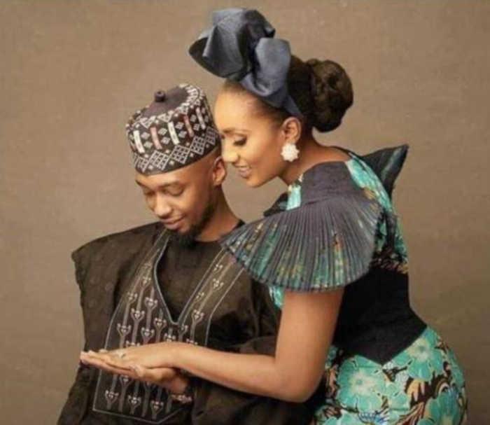 Aliyu Atiku Abubakar and Fatima Nuhu Ribadu