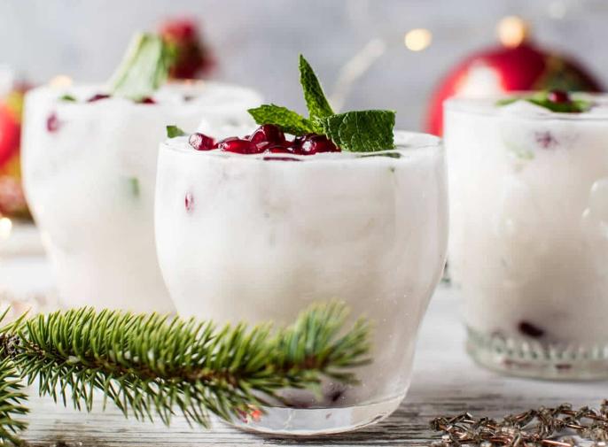 White christmas mojito #drink #mojito #sangria #summer #cocktail