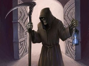 The Grim Reaper will be visiting all of us ...