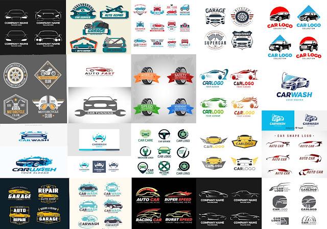 شعار لمعرض سيارات