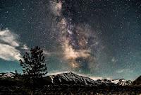 Stars over mountains - Photo by Brendan Miranda on Unsplash