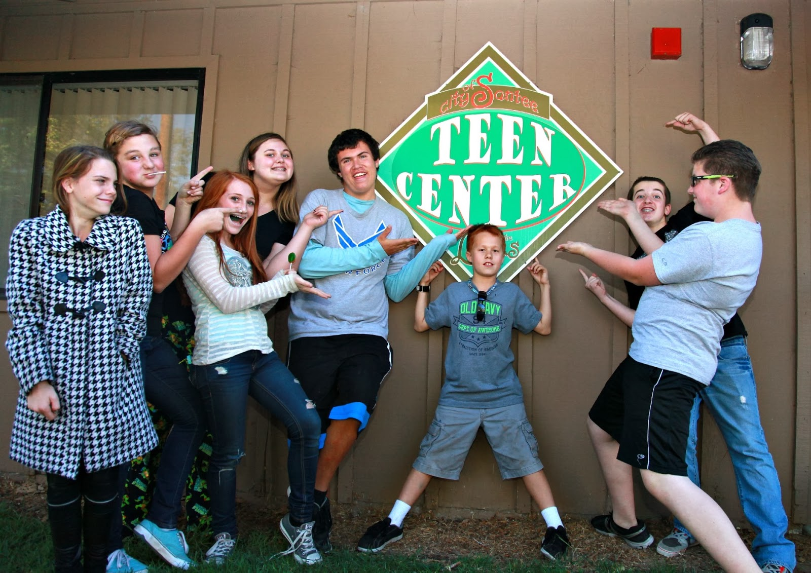 About The Santee Teen Center 113