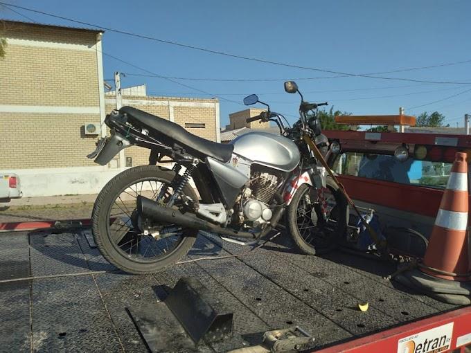 Brigada Militar flagra menor conduzindo motocicleta