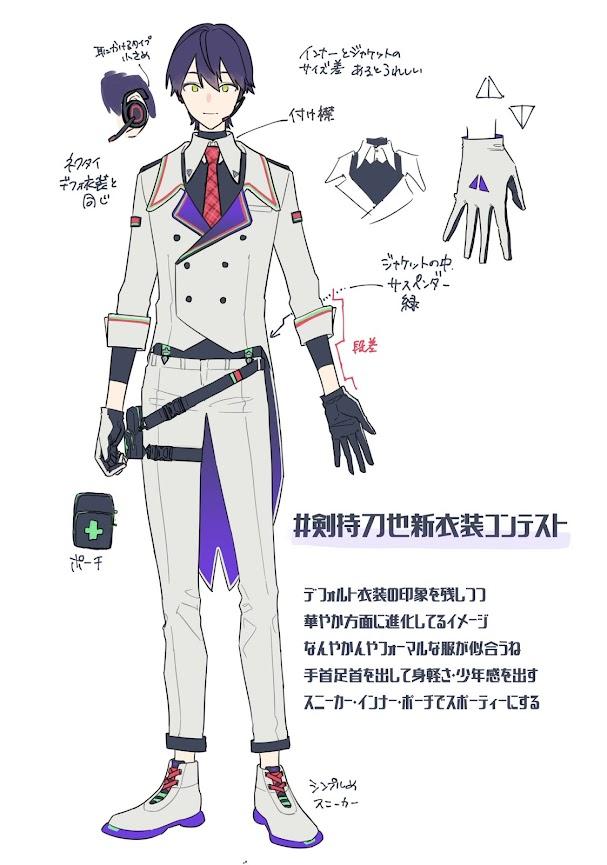 Kenmochi Toya New Costume Contest