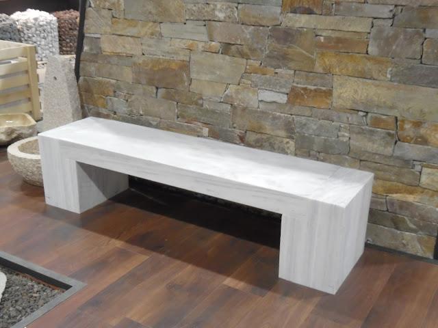 nowoczesna ławka ogrodowa