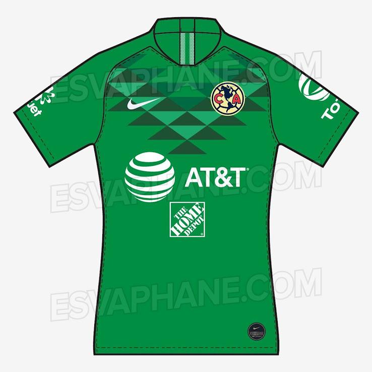 online store 1343b 6112c Nike Club America 19-20 Home & Away Kits Revealed - Footy ...